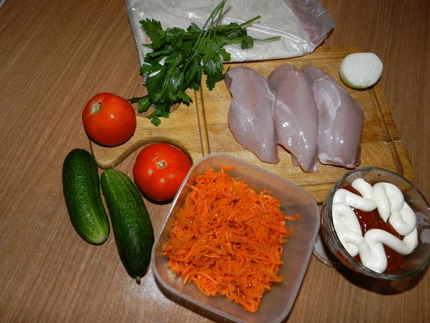 Шаурма (шаверма) в домашних условиях с курицей